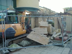 Demolishing St Martin's Square