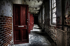 Corridor - West Park Mental Hospital